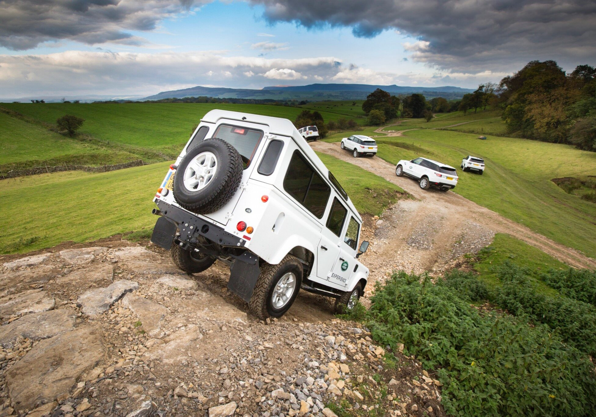 broughton landrover experience